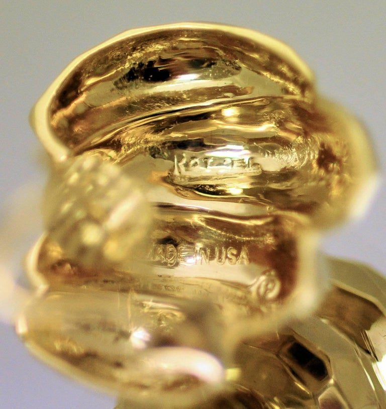 18 Karat Yellow Gold