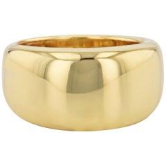 H&H 18 Karat Yellow Gold Designer Band Ring