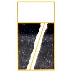 18 karat Yellow Gold Granite Pendant