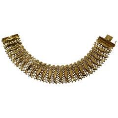 18-Karat Yellow Gold Handmade Bracelet