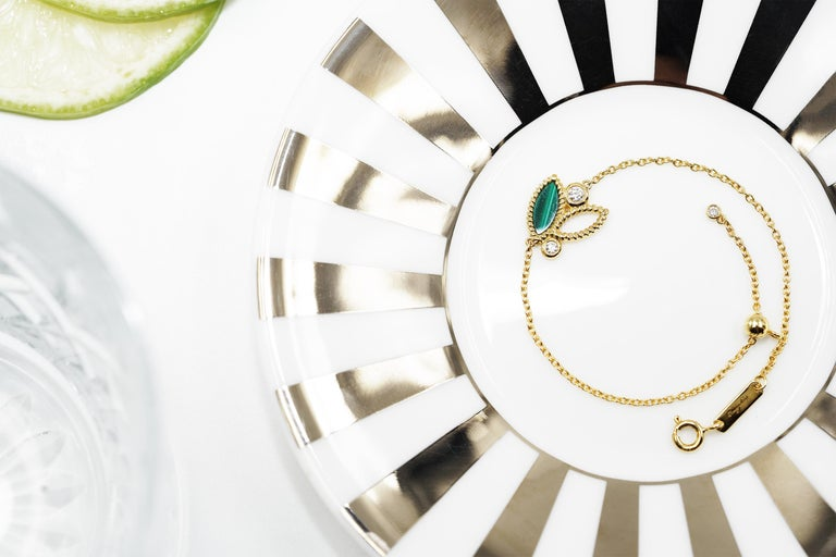 18k yellow gold, 2.9g. 
