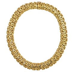 18 Karat Yellow Gold Necklace