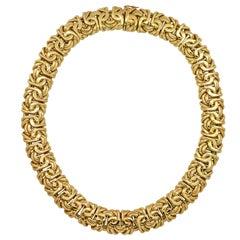 18 Karat Gelbgold Halskette