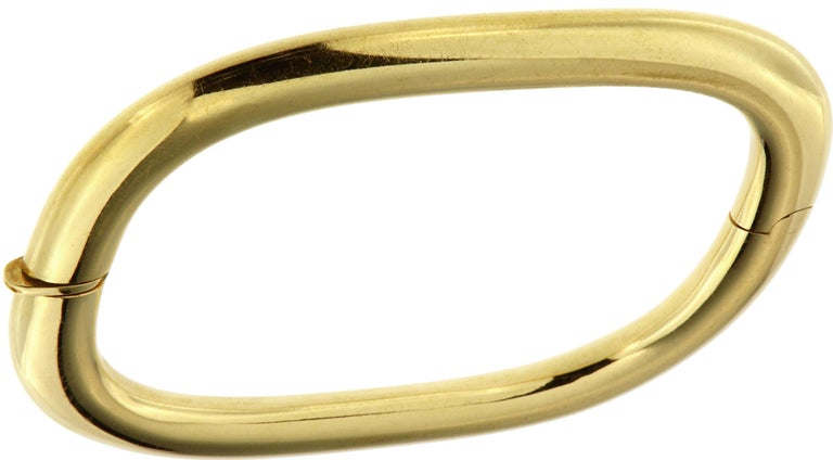 1980s Cuff Bracelet in 18k yellow gold Ready for delivery. It can be shipped with express delivery on request. ________________________________________________________________________  Something about Botta Gioielli...  Botta Gioielli is a two