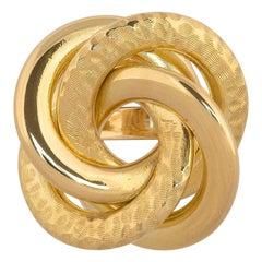 18 Karat Yellow Gold Ring, circa 1940s