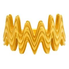 """FARBOD 18 Karat Yellow Gold Ring """"Crown"""" 'Unisex'"""