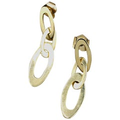 18 Karat Yellow Gold Roberto Coin Earrings