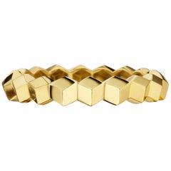 Paolo Costagli 18 Karat Yellow Gold Stackable Brillante Band