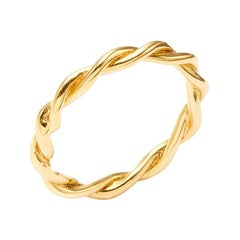 Twists - Twisted Band in 18 Karat Yellow Gold