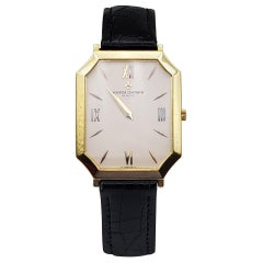 18 Karat Yellow Gold Vacheron Constantin Watch 33071 Ultra Thin Octagon Case