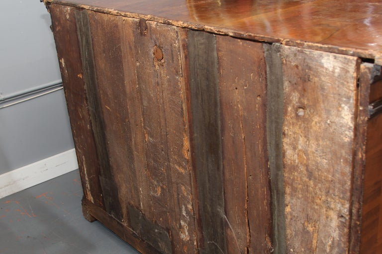 18th Century Dutch Chest with Silk Lined Drawers For Sale 11