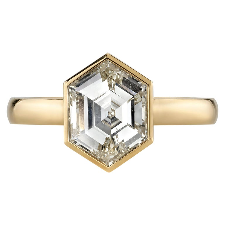 1.80-carat step-cut diamond ring