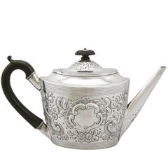 1800 Georgian Sterling Silver Teapot