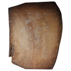 1800s-1900s Japanese Wooden Board Abstract Art Wabisabi Picture