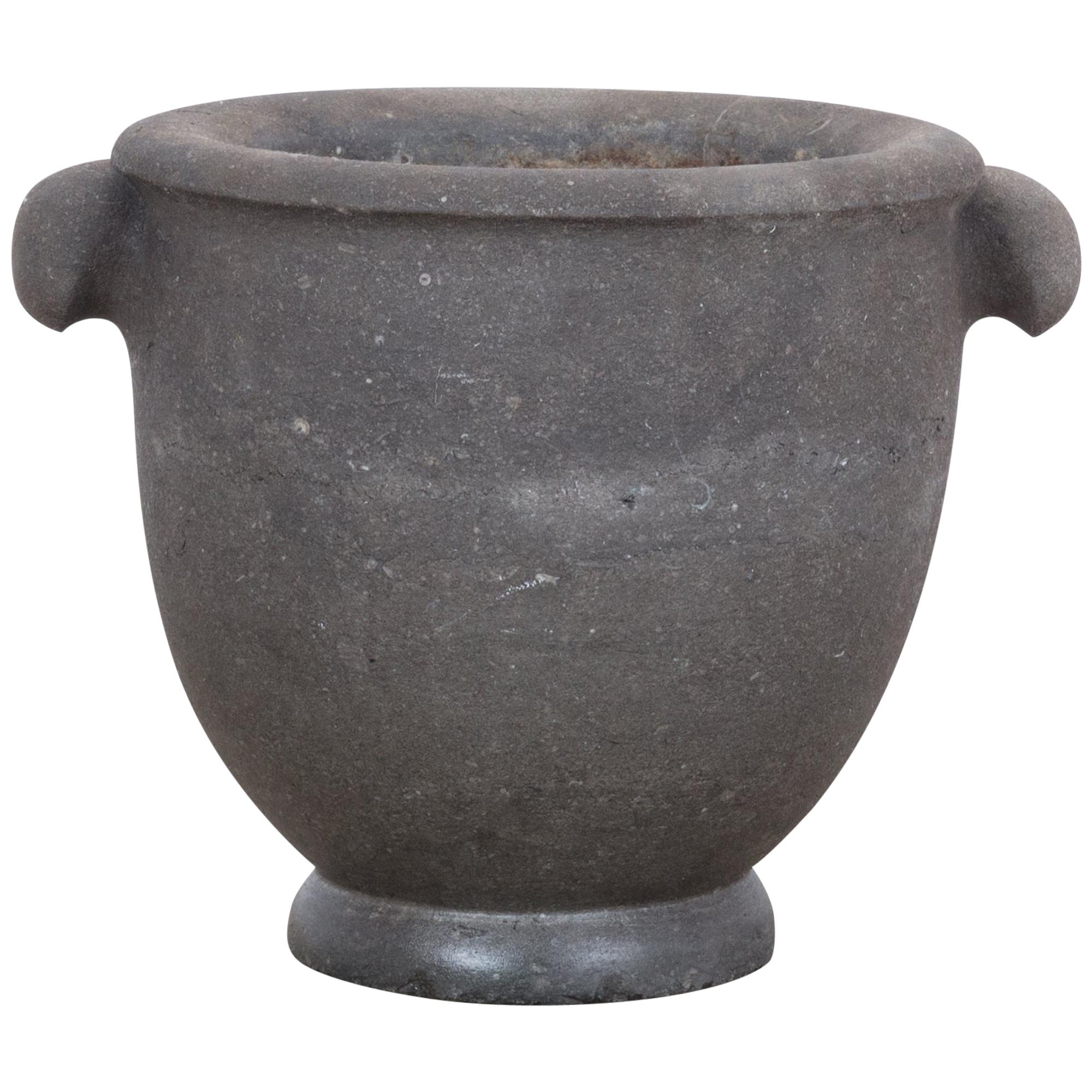1800s Black Stone Mortar