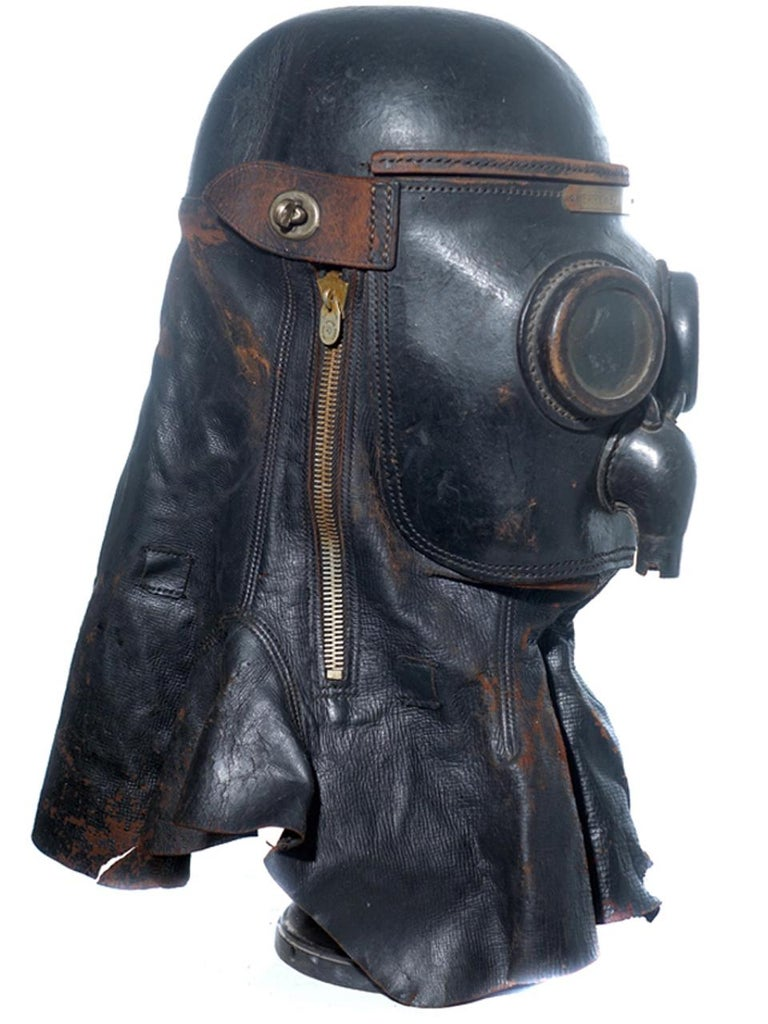 Industrial 1800s Merryweather Smoke Mask For Sale