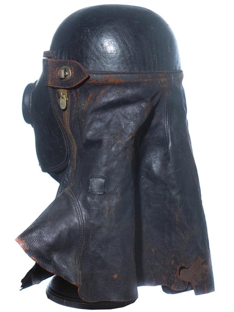 British 1800s Merryweather Smoke Mask For Sale