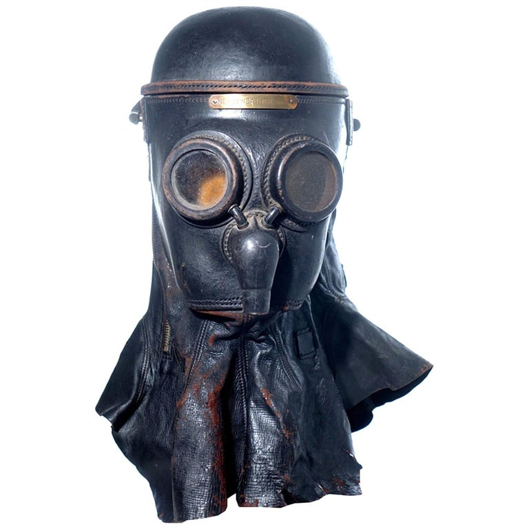 1800s Merryweather Smoke Mask For Sale