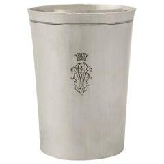 1810s Austro-Hungarian Silver Beaker