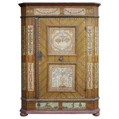 Folk Art Wardrobes and Armoires