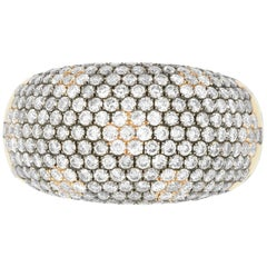 1.84 Carat Natural Champagne and Diamond Ring