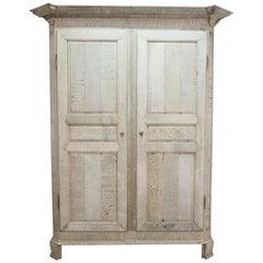 1840s Belgian Oak Cabinet