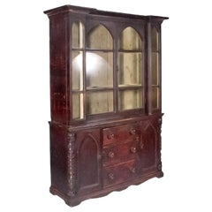 1840s English Painted Cornish Dresser