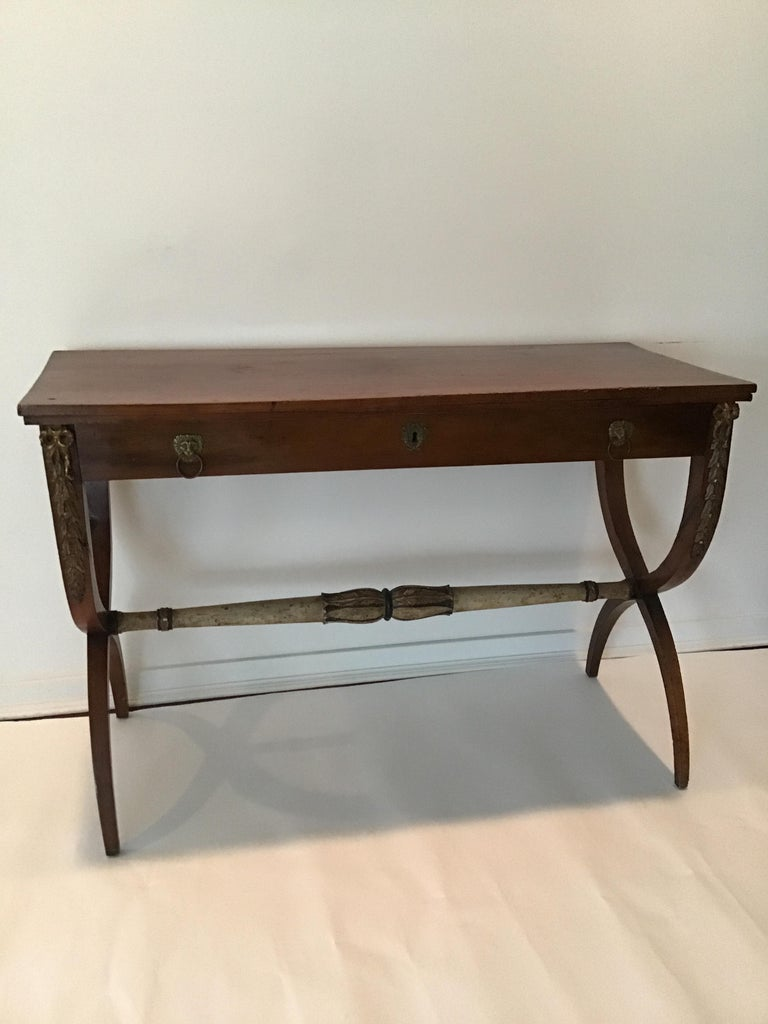 1840s Italian Classical Console In Good Condition For Sale In Tarrytown, NY