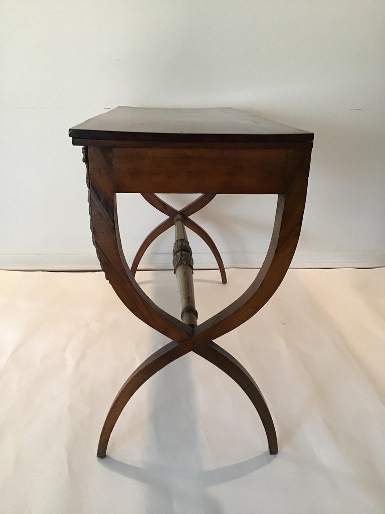 Mid-19th Century 1840s Italian Classical Console For Sale