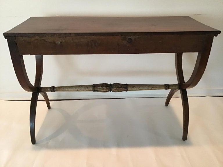 Wood 1840s Italian Classical Console For Sale