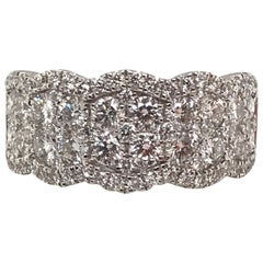 1.85 Carat Round White Diamond Ring