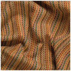 Fabric 1850 Semi Mechanical Loom Striped Spinone Melange, Florence, Italy