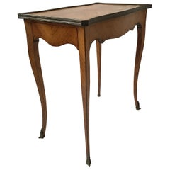 1850s French Side Table with Bronze Ornaments