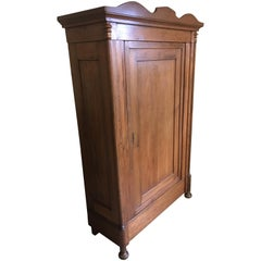 1855 Biedermeier Softwood Cabinet from Germany