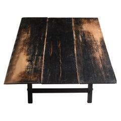 1860s-1920s Japanese Antique Low Table / Furniture Meiji Period Wabisabi