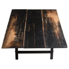 1860s-1920s Japanese Antique Low Table / Furniture Meiji Period Wabisabi