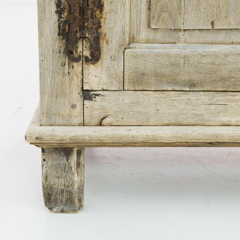 1860s Belgian Oak Buffet For Sale 1