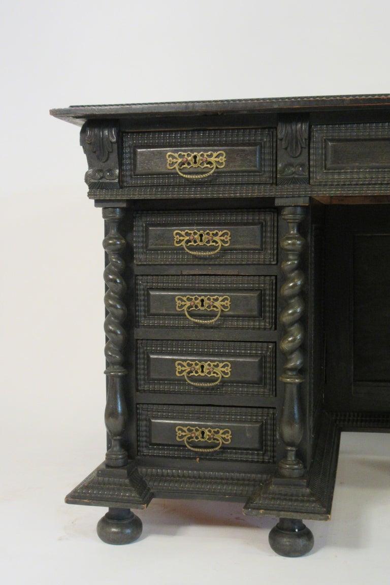 1860s Dutch Ornate Desk For Sale At 1stdibs
