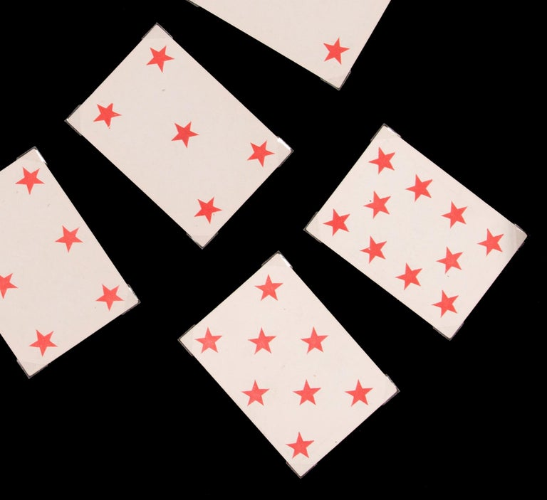 1862 Civil War Playing Cards with Stars, Flag, Sheild's and Eagles For Sale 2