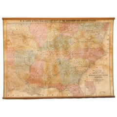 1862 Lloyd's New Military Map of the Border & Southern States