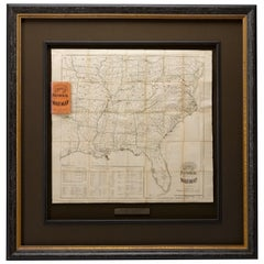1862 The Historical Civil War Map