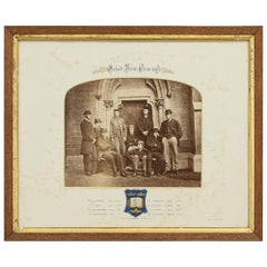 1863 Oxford University Boat Race Team Photograph, Early Historic Photograph