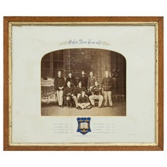 1864 Oxford University Boat Race Team Photograph, Oxford Cambridge