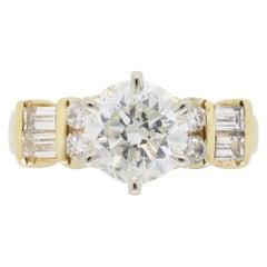 1.87 Carat Diamond Engagement Ring