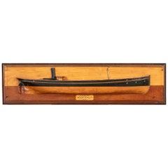 """1870 Raylton Dixon & Co. Half Hull Model of the """"SS Glenlivet"""" Cargo Steamer"""