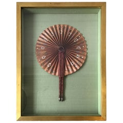 1870s Framed Fan