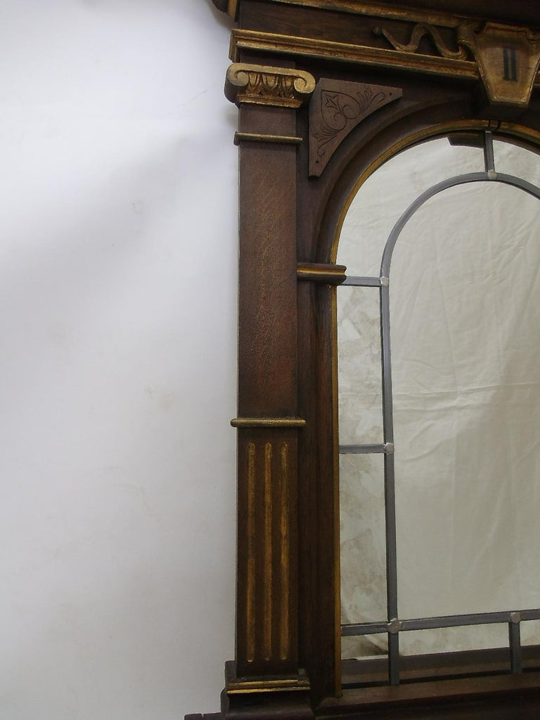 Hand-Crafted 1870s Sacral Way of the Cross Window from Germany For Sale
