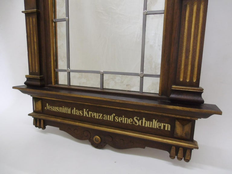 1870s Sacral Way of the Cross Window from Germany In Good Condition For Sale In Senden, NRW