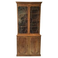 1870s Tall English Regency Cabinet