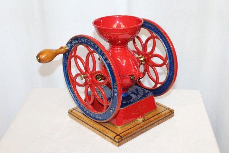 1873 Enterprise MFG. Co No.2 Vintage Coffee Grinder Restored For Sale 4